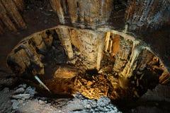 Εσωτερική σπηλιά   Στοκ φωτογραφίες με δικαίωμα ελεύθερης χρήσης