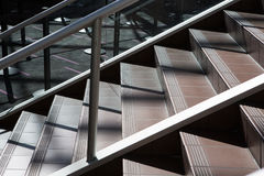 Εσωτερική συγκεκριμένη σκάλα Στοκ Φωτογραφίες