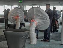 εσωτερική σύγχρονη νέα TV πύργων του Ταλίν Στοκ φωτογραφία με δικαίωμα ελεύθερης χρήσης