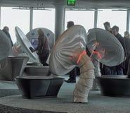 εσωτερική σύγχρονη νέα TV πύργων του Ταλίν Στοκ φωτογραφίες με δικαίωμα ελεύθερης χρήσης