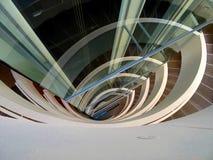 Εσωτερική σύγχρονη σκάλα Στοκ εικόνες με δικαίωμα ελεύθερης χρήσης