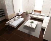 εσωτερική τουαλέτα Στοκ Εικόνες