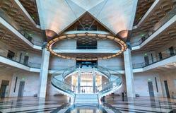 εσωτερική φωτογραφία Κατάρ μουσείων Ιανουαρίου doha τέχνης του 2012 6η που λαμβάνεται ισλαμική Στοκ Εικόνες