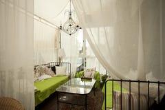 Εσωτερική ψυχρή ζώνη εστιατορίων Στοκ εικόνα με δικαίωμα ελεύθερης χρήσης