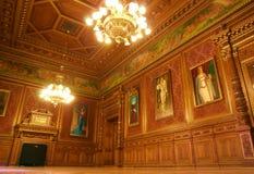 Εσωτερική όπερα Βουδαπέστη Στοκ Φωτογραφίες