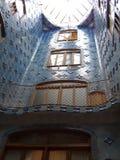 εσωτερική όψη Λα pedrera Στοκ εικόνες με δικαίωμα ελεύθερης χρήσης
