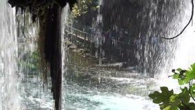 Εσωτερικοί καταρράκτες Duden στην επαρχία Antalya στην Τουρκία φιλμ μικρού μήκους