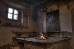 εσωτερικός αγροτικός καμπινών Στοκ εικόνα με δικαίωμα ελεύθερης χρήσης