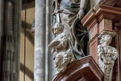 Εσωτερικός καθεδρικός ναός του ST Stephen Στοκ εικόνες με δικαίωμα ελεύθερης χρήσης