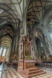 Εσωτερικός καθεδρικός ναός του ST Stephen Στοκ Εικόνα