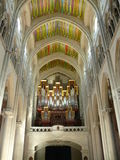 Εσωτερικός καθεδρικός ναός Almudena στη Μαδρίτη, Ισπανία Στοκ φωτογραφία με δικαίωμα ελεύθερης χρήσης