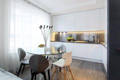 Εσωτερικός - κουζίνα Στοκ φωτογραφίες με δικαίωμα ελεύθερης χρήσης