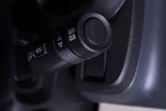Εσωτερικός μίσχος ελέγχου ψηκτρών αυτοκινήτων στοκ εικόνα