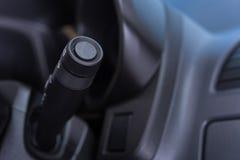 Εσωτερικός μίσχος ελέγχου ψηκτρών αυτοκινήτων στοκ εικόνες