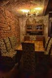 Εσωτερικός μαύρος μαγικός καφέδων Στοκ Εικόνες