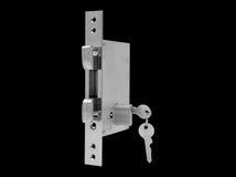 Εσωτερικός μηχανισμός του κλειδώματος πορτών στοκ εικόνες με δικαίωμα ελεύθερης χρήσης