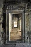 εσωτερικός ναός καναλιών angkor bayon thom Στοκ φωτογραφία με δικαίωμα ελεύθερης χρήσης