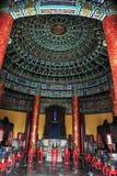 εσωτερικός ναός ουρανού Στοκ Φωτογραφίες