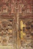 εσωτερικός ξύλινος πορτώ Στοκ Φωτογραφίες