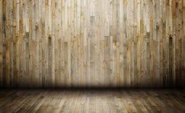 εσωτερικός ξύλινος σπιτ&i Στοκ Εικόνες