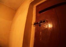 εσωτερικός ξύλινος πορτώ Στοκ φωτογραφίες με δικαίωμα ελεύθερης χρήσης