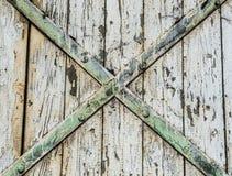 εσωτερικός ξύλινος πορτώ Στοκ φωτογραφία με δικαίωμα ελεύθερης χρήσης