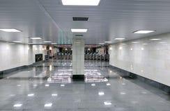 Εσωτερικός σταθμός μετρό της Μόσχας Στοκ Φωτογραφία