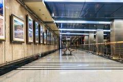 Εσωτερικός σταθμός μετρό της Μόσχας Στοκ Φωτογραφίες