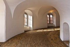 Εσωτερικός στρογγυλός πύργος Στοκ φωτογραφία με δικαίωμα ελεύθερης χρήσης