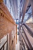 εσωτερικός σύγχρονος αρχιτεκτονική σύγχρονη Στοκ εικόνες με δικαίωμα ελεύθερης χρήσης