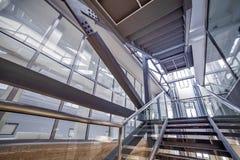 εσωτερικός σύγχρονος αρχιτεκτονική σύγχρονη Στοκ εικόνα με δικαίωμα ελεύθερης χρήσης