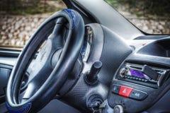 εσωτερικός σύγχρονος αυτοκινήτων στοκ φωτογραφίες