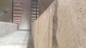 Εσωτερικός τοίχος μουσουλμανικών τεμενών Suleymaniye απόθεμα βίντεο