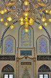 εσωτερικός Τούρκος μουσουλμανικών τεμενών σχεδίου Στοκ φωτογραφία με δικαίωμα ελεύθερης χρήσης