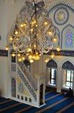 εσωτερικός Τούρκος μουσουλμανικών τεμενών σχεδίου Στοκ εικόνες με δικαίωμα ελεύθερης χρήσης