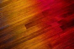 Εσωτερικός τρύγος δωματίων με τα ζωηρόχρωμα ξύλινα κεραμίδια Στοκ Εικόνες