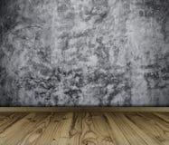Εσωτερικός τρύγος δωματίων με τον καφετή κατασκευασμένο τοίχο Στοκ φωτογραφία με δικαίωμα ελεύθερης χρήσης