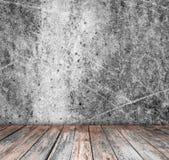 Εσωτερικός τρύγος δωματίων με το ξύλινο πάτωμα Στοκ φωτογραφία με δικαίωμα ελεύθερης χρήσης