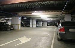 εσωτερικός χώρος στάθμε&up Στοκ εικόνα με δικαίωμα ελεύθερης χρήσης