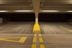 Εσωτερικός υπαίθριος σταθμός αυτοκινήτων Στοκ εικόνες με δικαίωμα ελεύθερης χρήσης