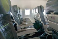 Εσωτερικό αεροσκαφών Στοκ εικόνα με δικαίωμα ελεύθερης χρήσης