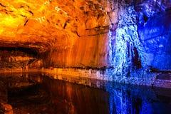 Εσωτερικό αλατισμένων ορυχείων σε Khewra Στοκ εικόνες με δικαίωμα ελεύθερης χρήσης