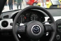 Εσωτερικό ανοικτών αυτοκινήτων στοκ φωτογραφία
