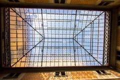 Εσωτερικό ανώτατο όριο γυαλιού του della Santissima Annunz βασιλικών Στοκ Φωτογραφία