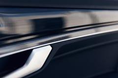 Εσωτερικό αυτοκινήτων Εσωτερική περιποίηση πορτών αυτοκινήτων στοκ φωτογραφίες