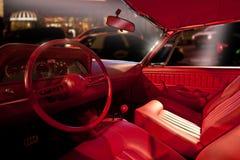 Εσωτερικό αυτοκινήτων πολυτέλειας Στοκ εικόνα με δικαίωμα ελεύθερης χρήσης