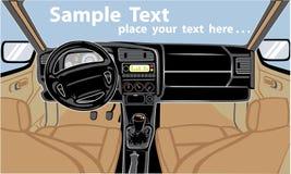 εσωτερικό αυτοκινήτων ελεύθερη απεικόνιση δικαιώματος