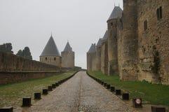 Εσωτερικό δαχτυλίδι του Carcassonne Στοκ Εικόνα