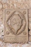 Εσωτερικό βασιλικών Euphrasian Porec, Κροατία Στοκ Φωτογραφίες
