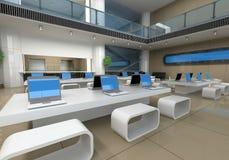 εσωτερικό γραφείο Στοκ εικόνα με δικαίωμα ελεύθερης χρήσης